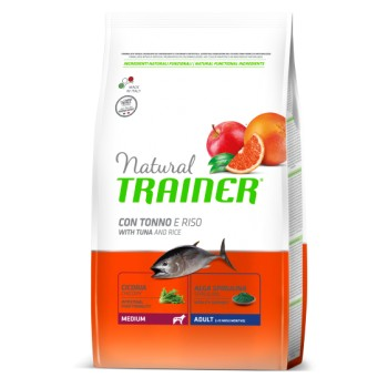 Natural Trainer Medium Adult Tuna & Rice 3kg