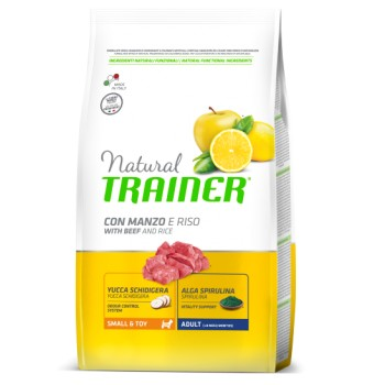 Natural Trainer Mini Adult Beef & Rice 2kg