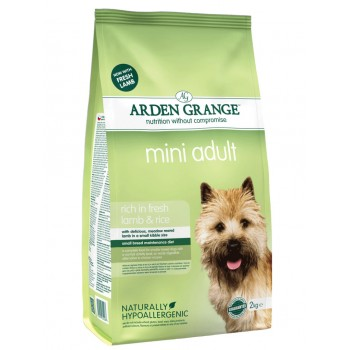 ARDEN GRANGE mini adult fresh lamb and rice 2kg / 6kg