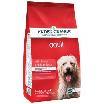 ARDEN GRANGE adult fresh chicken and rice 2kg / 12kg