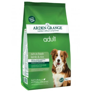 ARDEN GRANGE adult fresh lamb and rice 2kg / 12kg