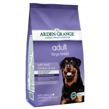 ARDEN GRANGE adult large breed fresh chicken and rice 2kg / 12kg