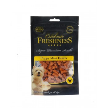 Celebrate Freshness Puppy Mini Hearts